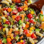 Easy Pasta Salad with fresh Veggies