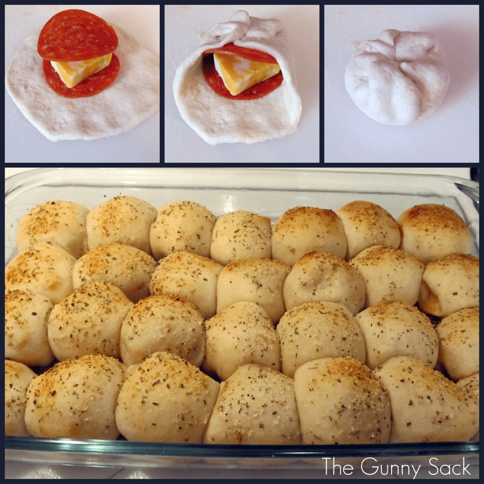 Easy Pepperoni Rolls - Pizza Recipes Using Biscuits