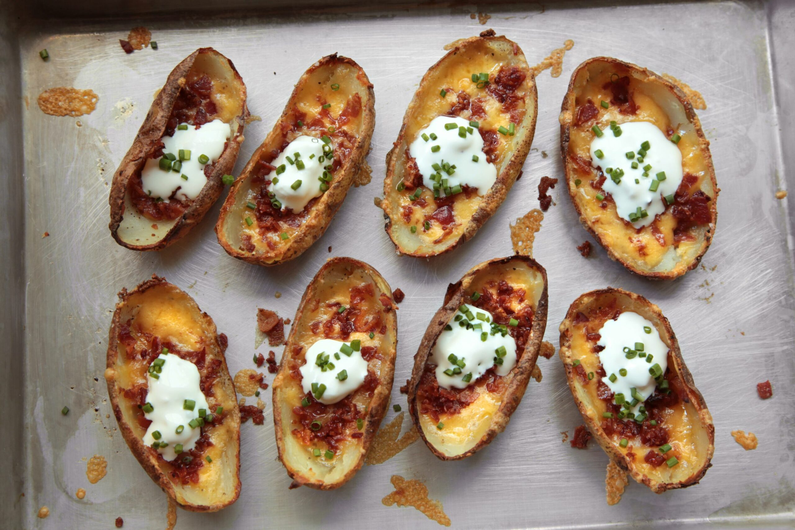 Easy Potato Skins - Easy Recipes Potato