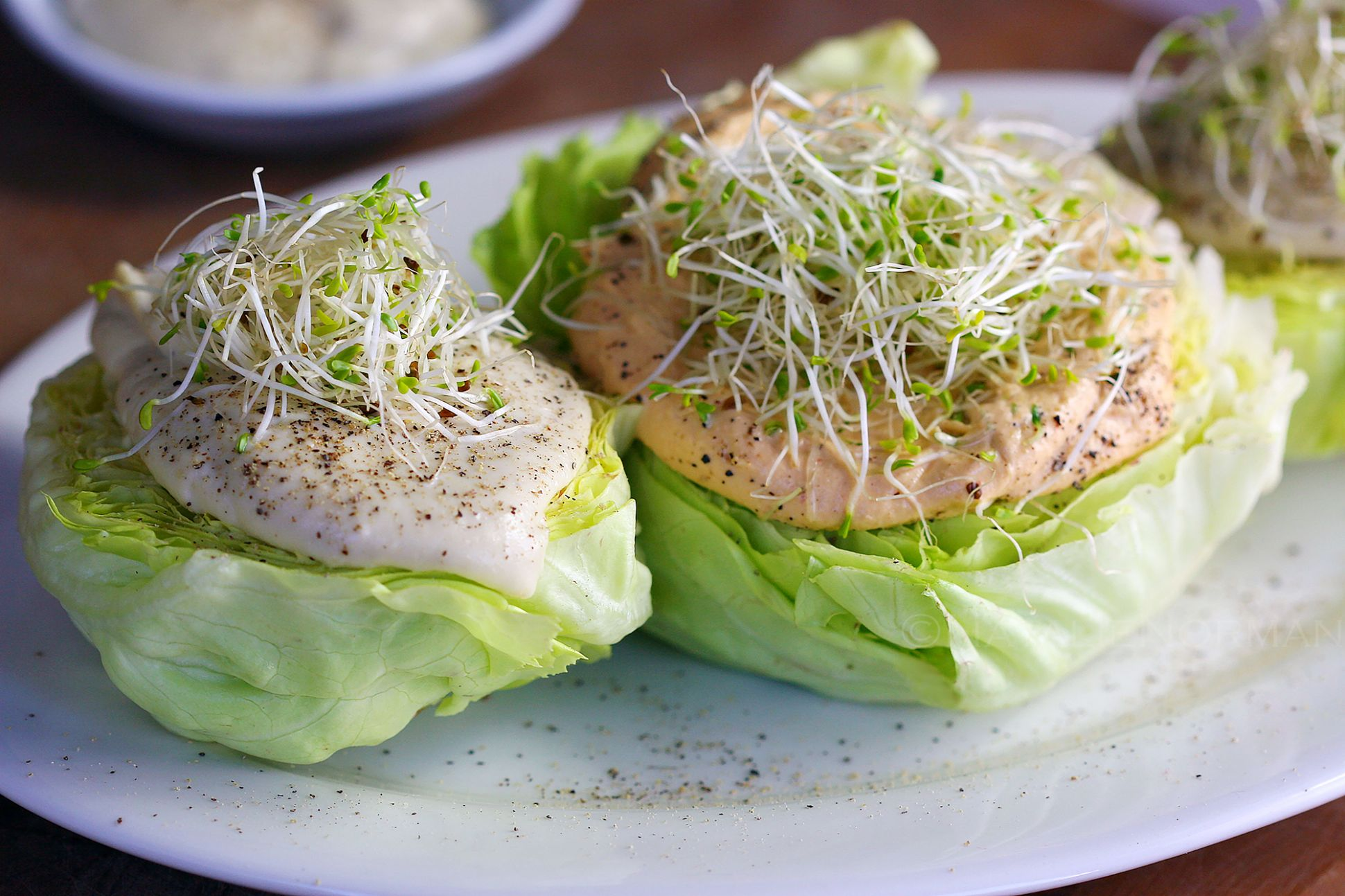 Easy Raw Vegan Meal Ideas for 8-8 People: Butter Lettuce Hearts ..