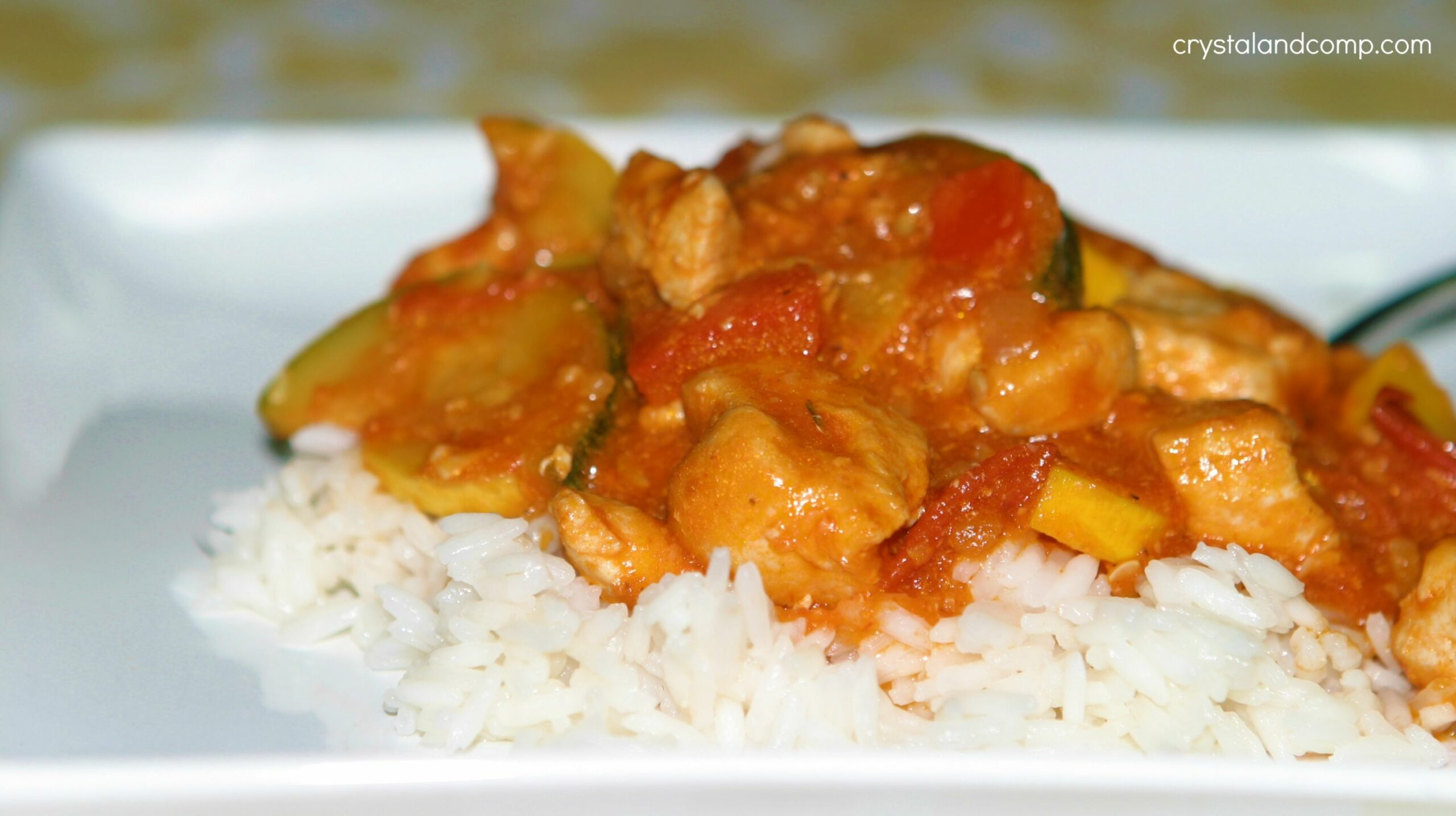 Easy Recipes: Chicken and Summer Squash over Rice - Recipes Over Rice