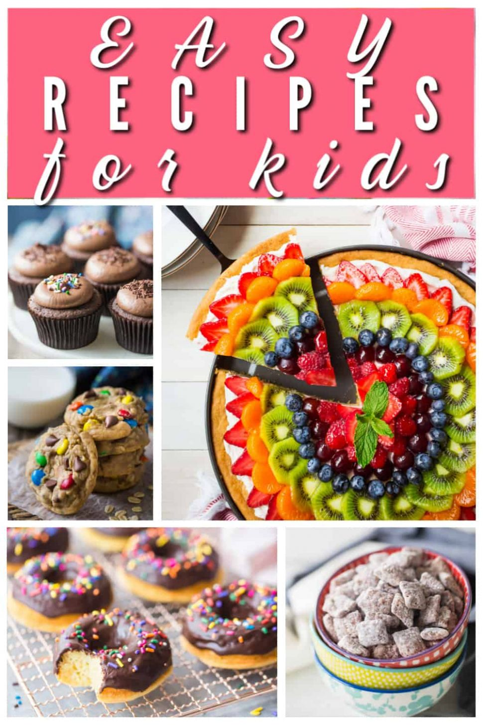 Easy Recipes for Kids: Yummy & fun treats to make! -Baking a Moment - Easy Recipes For Kids