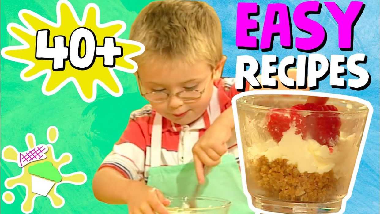 Easy Recipes Kids Will Love! | Tasty Cooking Recipes For Kids - Easy Recipes For Kids