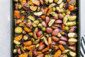 Easy Roasted Vegetables BEST Seasoning Mix | Chelsea's Messy Apron