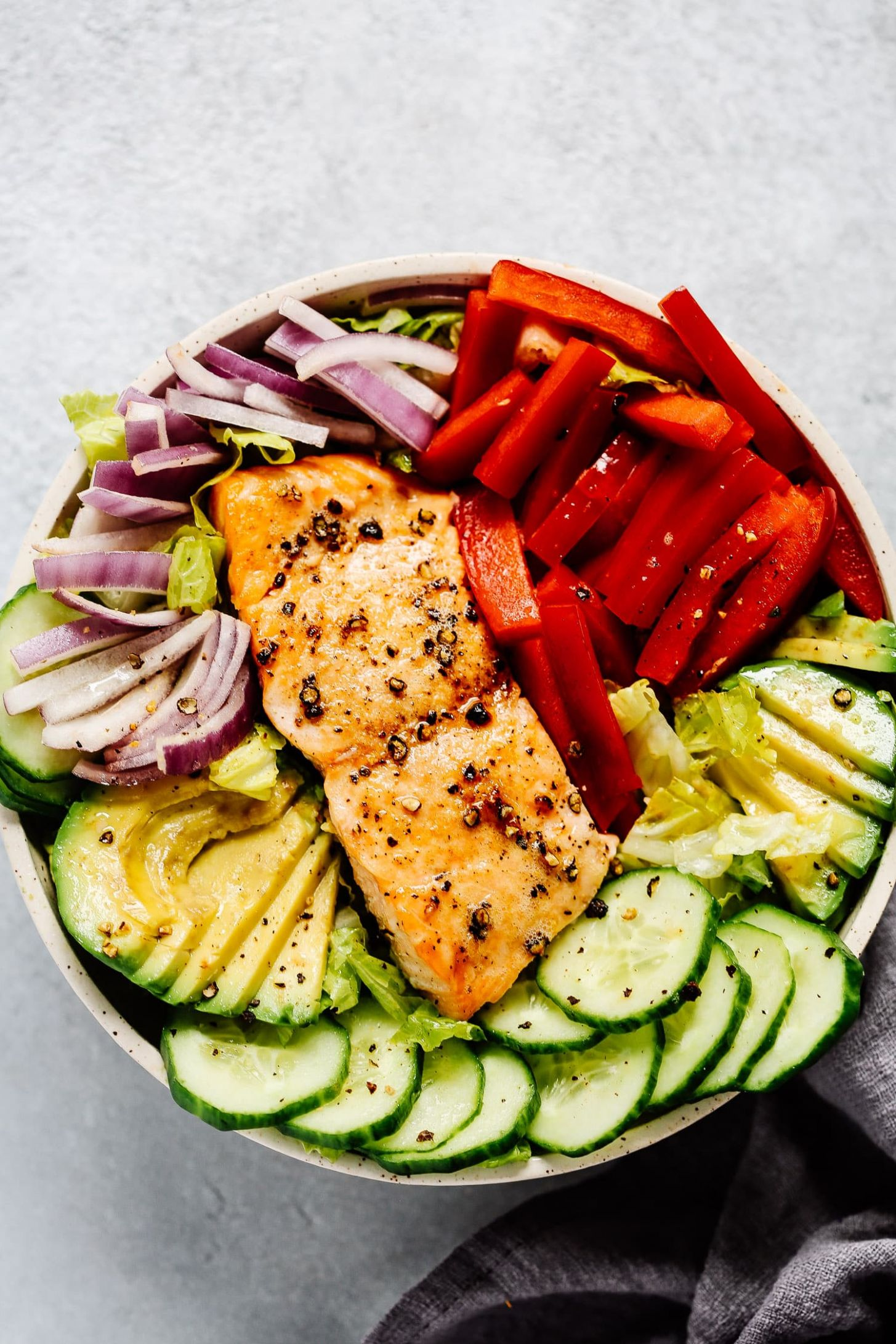 Easy Salmon Salad Recipe - Salad Recipes For Lunch