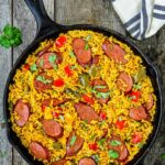 Easy Sausage And Peppers Rice Skillet – Recipes Rice And Sausage