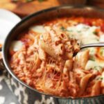 Easy Skillet Baked Ziti With Sausage And Ricotta Recipe – Pasta Recipes No Meat
