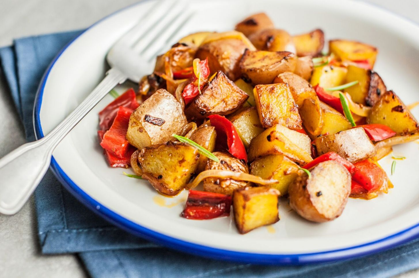 Easy Skillet Fried Potatoes - Potato Recipes On Stove Top