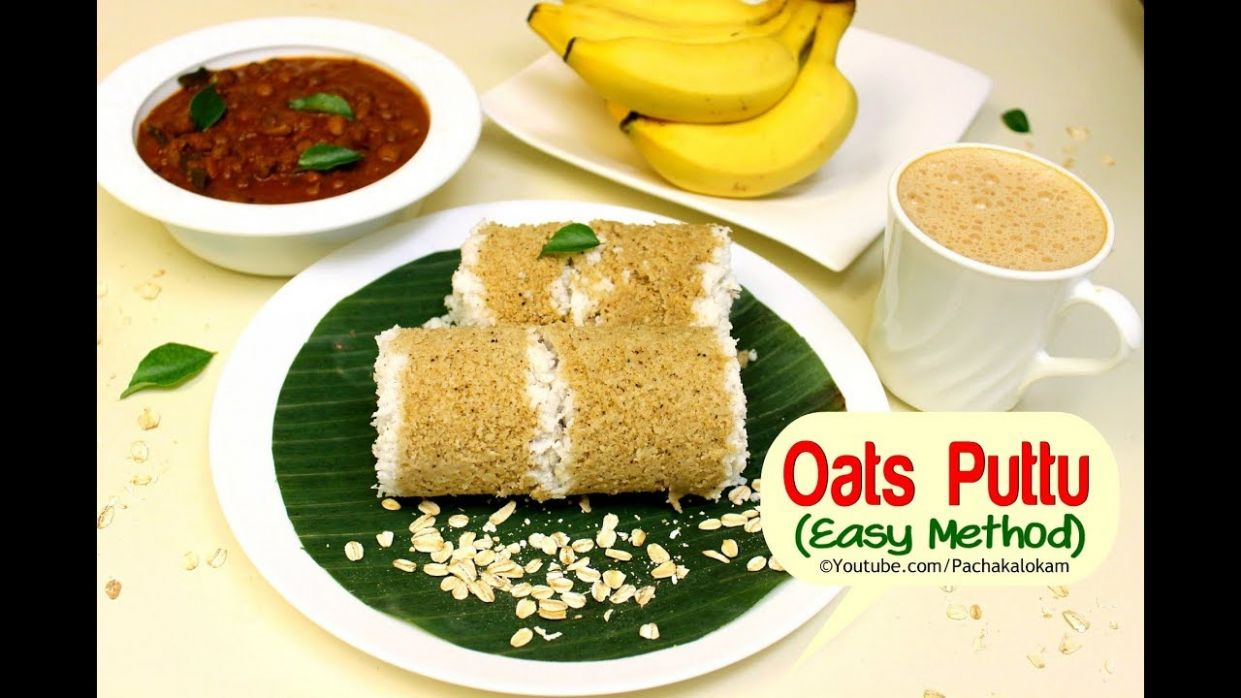Easy Soft Oats Puttu - Healthy Kerala Breakfast for Weight loss ..