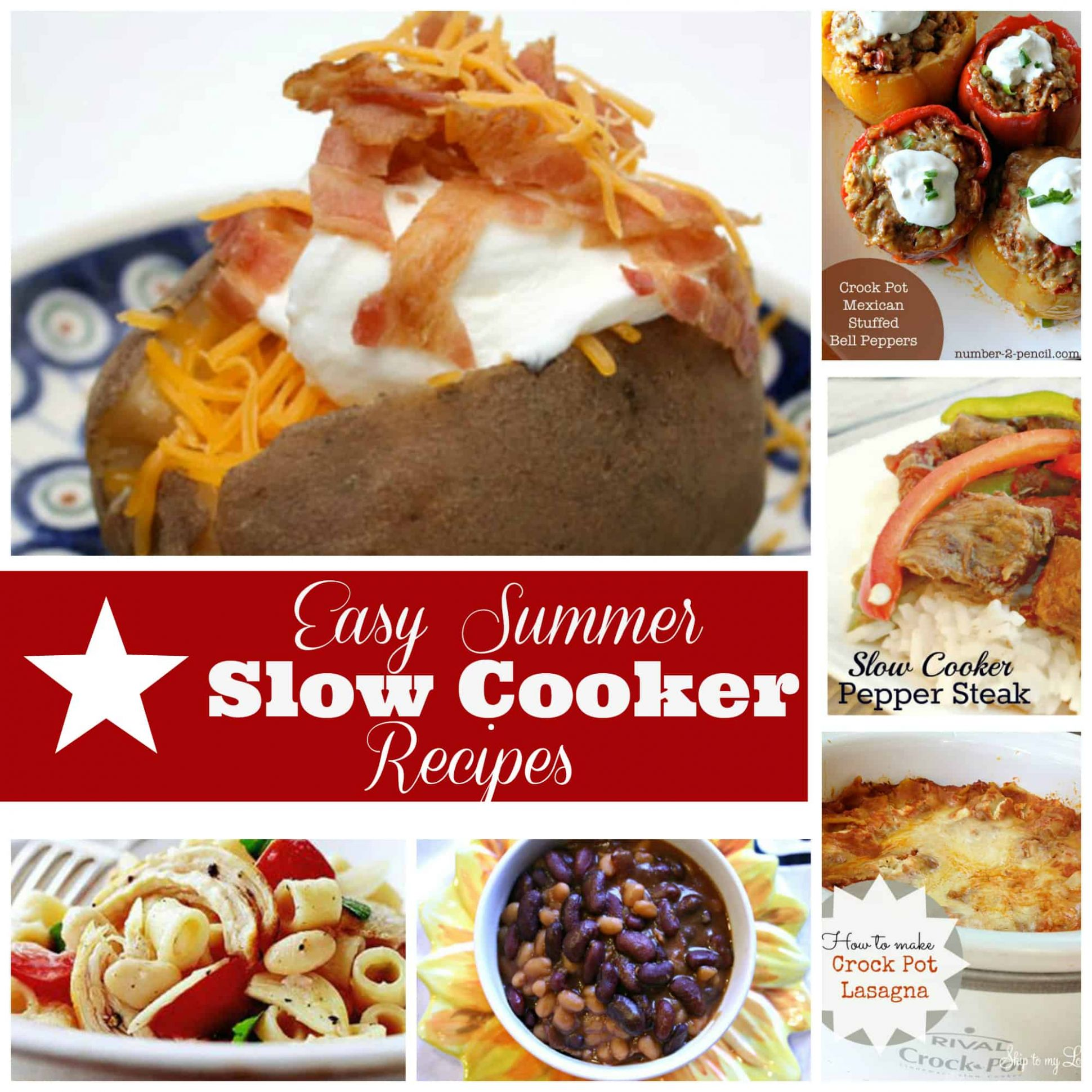 Easy Summer Slow Cooker Recipes | Skip To My Lou - Summer Recipes Crock Pot