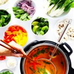 Easy Thai Curry Hot Pot | Gimme Some Oven – Recipe Vegetarian Hot Pot
