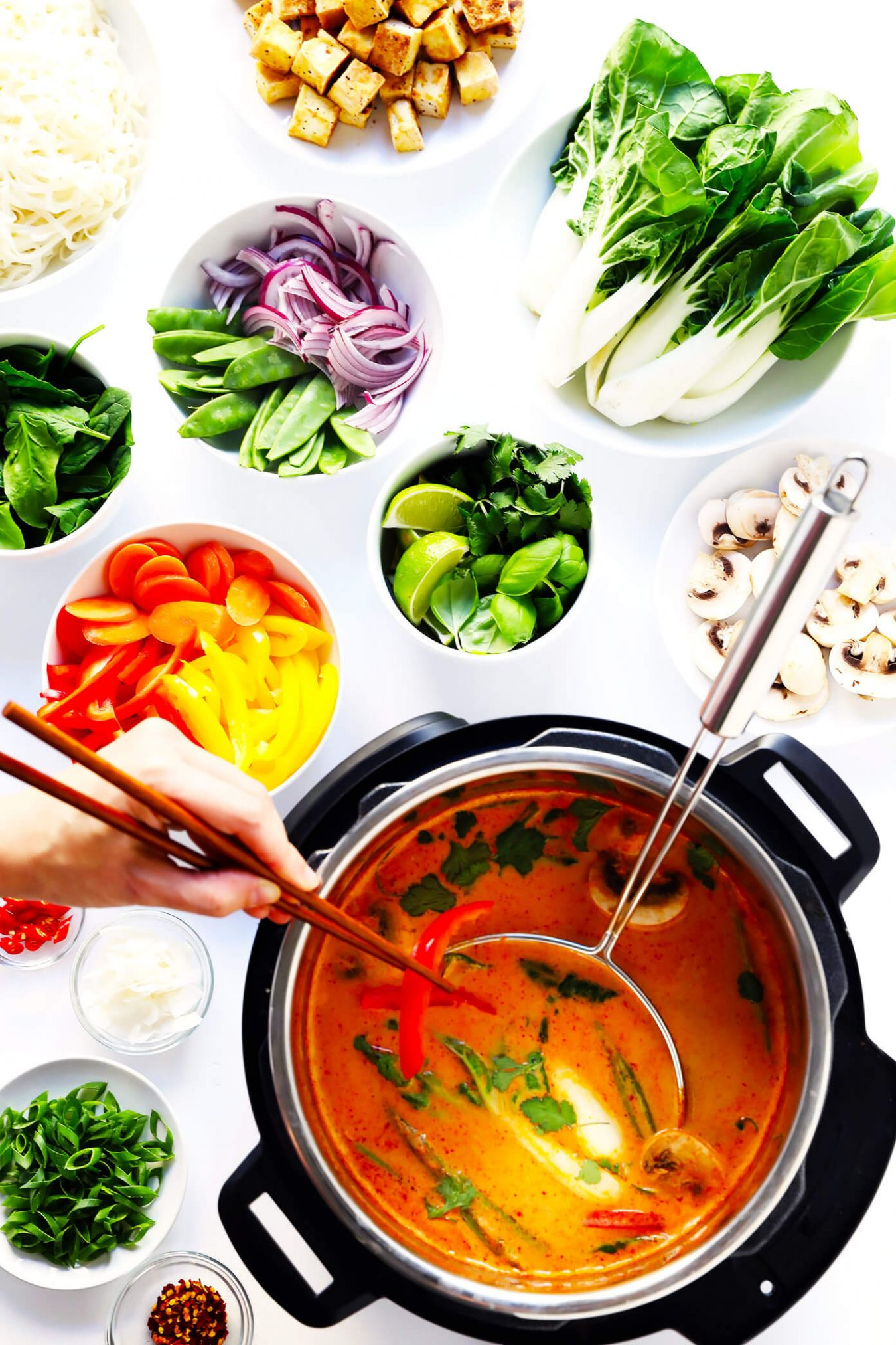 Easy Thai Curry Hot Pot | Gimme Some Oven - Recipe Vegetarian Hot Pot