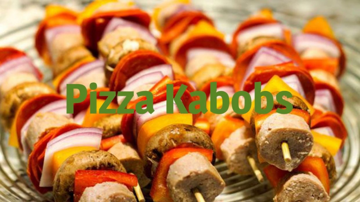 Easy to Make Pizza Kabobs (Kids Recipes) - Recipes Pizza Skewers
