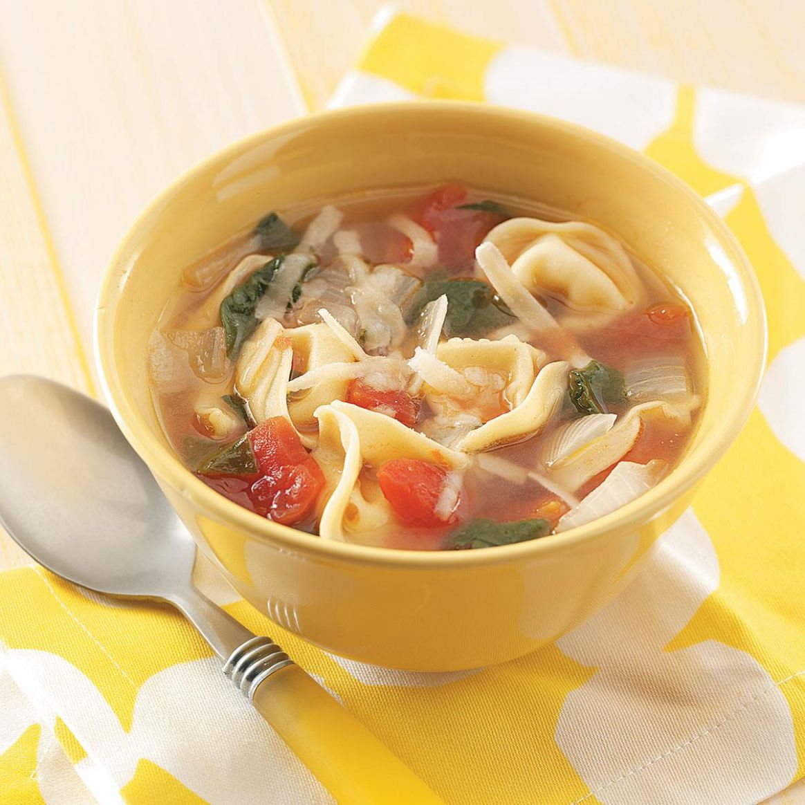 Easy Tortellini Soup - Soup Recipes Taste Of Home
