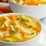 Easy Vegan Chicken Noodle Soup – Namely Marly – Soup Recipes Quotes