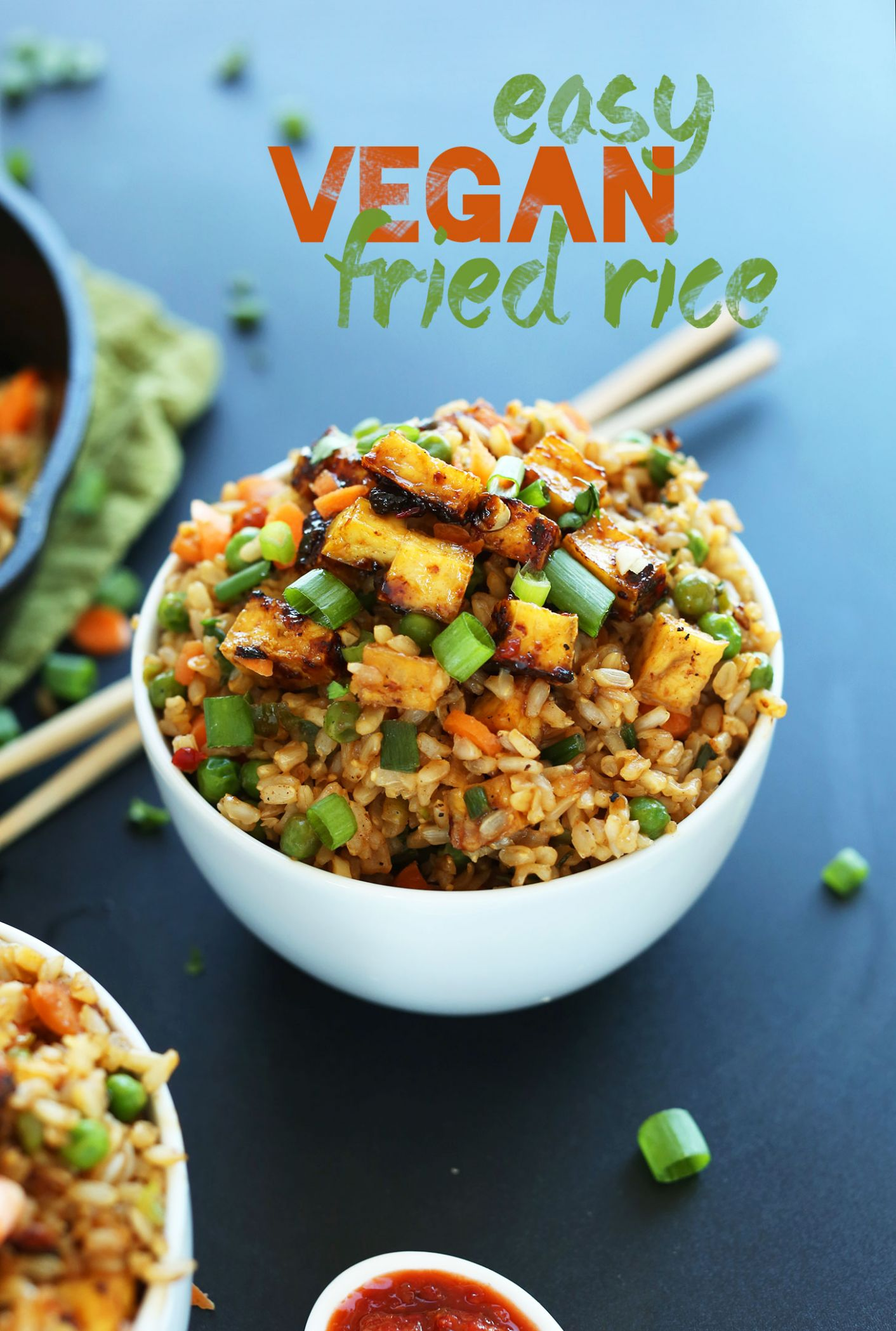 Easy Vegan Fried Rice - Vegan Recipes Quick