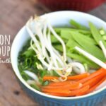Easy Vegan Udon Soup With Ginger Miso Broth – Recipe Vegetarian Udon Noodle Soup