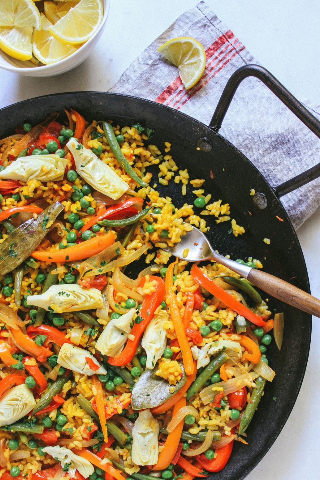 Easy Vegetable Paella (Vegan Spanish Recipe) - The Simple Veganista