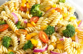 Easy Vegetable Pasta Salad