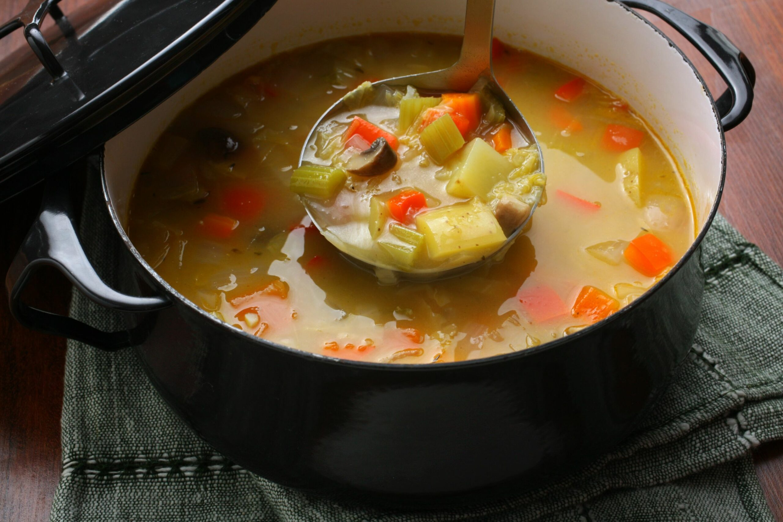 Easy Vegetable Soup - Recipes With Vegetable Stock