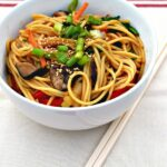 Easy Veggie Lo Mein – Recipes Vegetable Lo Mein