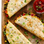 Easy Veggie Quesadillas Recipe | Gimme Some Oven – Recipe Vegetarian Quesadillas