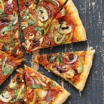 Easy Veggie Vegan Pizza With 10 Minute Crust – Pizza Recipes Without Tomato Sauce