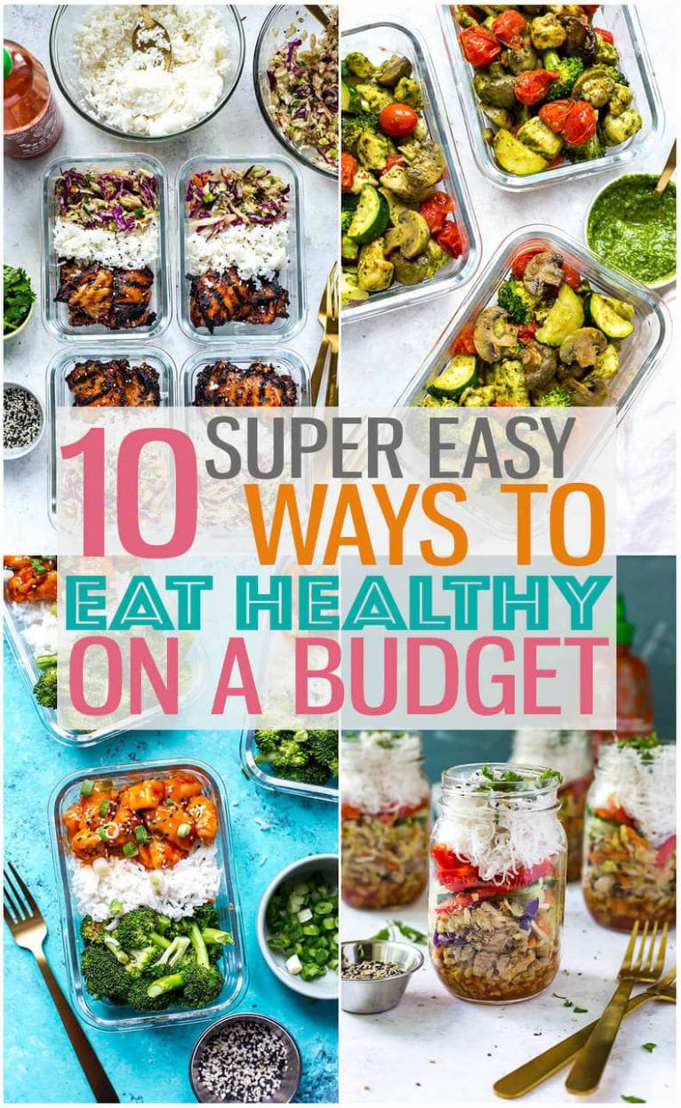 Eating Healthy on a Budget + 8 Cheap Dinner Ideas - The Girl on Bloor - Healthy Recipes For Weight Loss On A Budget