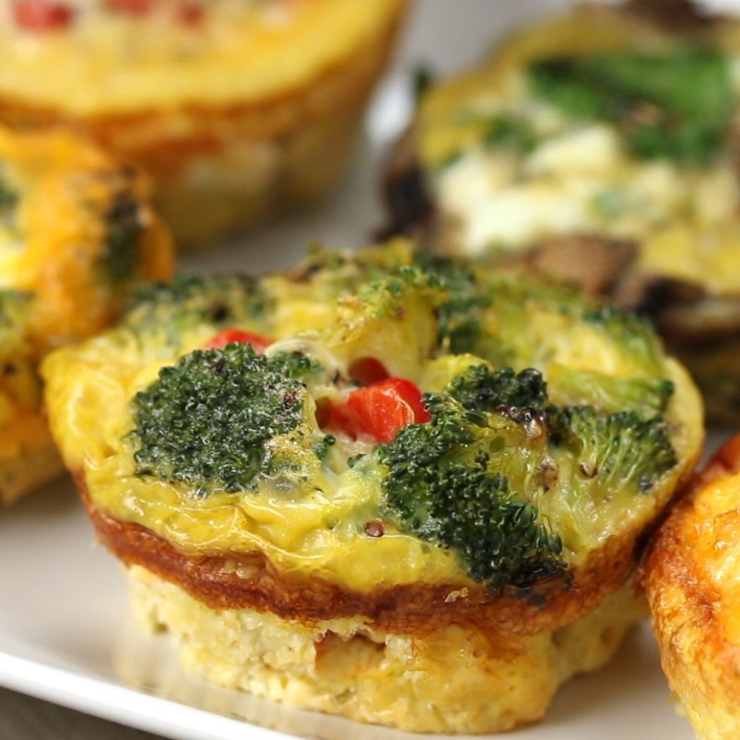 Egg Breakfast Cups Recipe by Tasty - Recipes Egg Cups