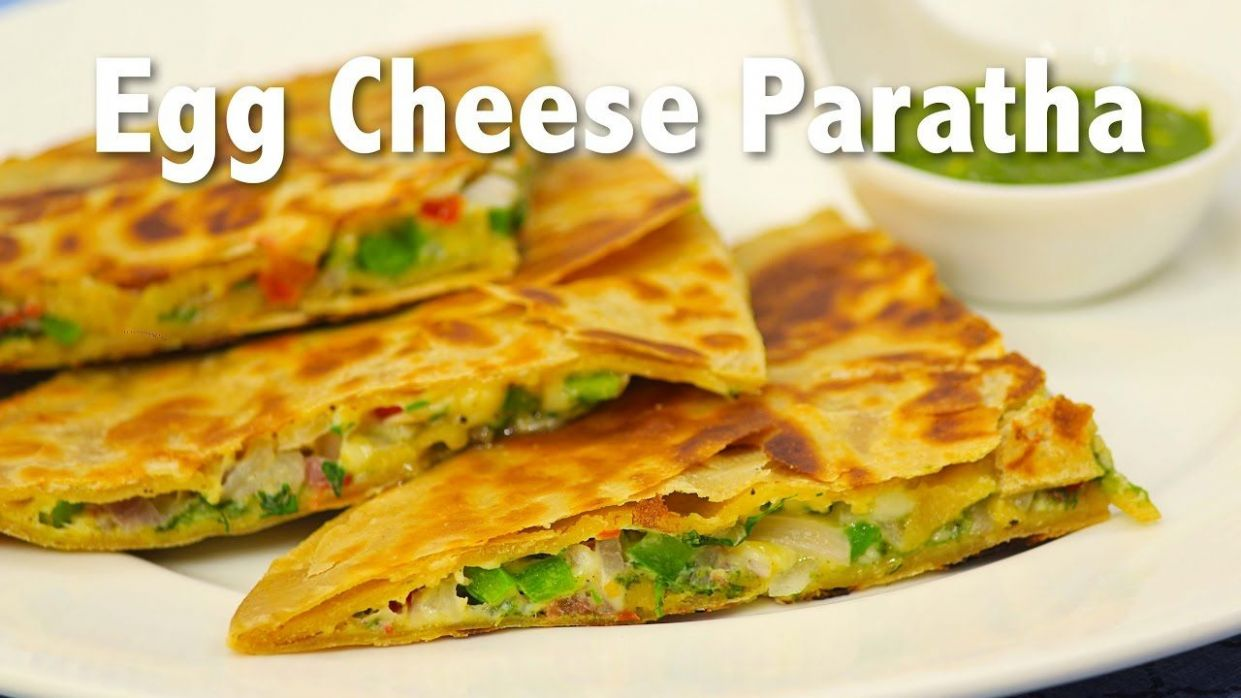 Egg Cheese Paratha   ChefHarpalSingh - YouTube (With images ..
