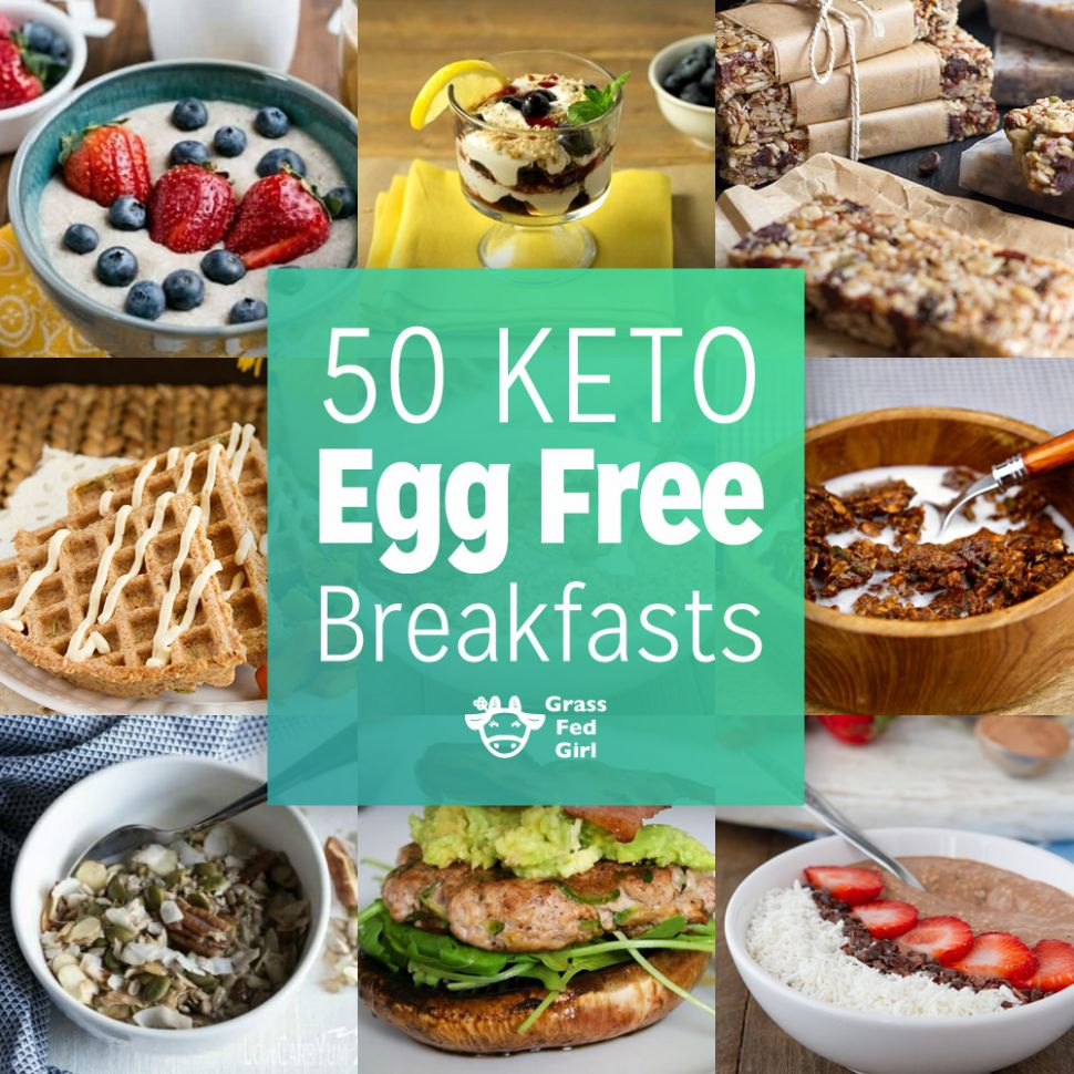 Egg Free Low Carb and Keto Breakfasts - Breakfast Recipes No Eggs