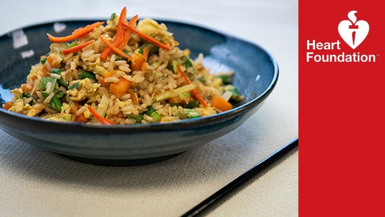 Egg fried rice - healthier recipe | Heart Foundation NZ - Healthy Recipes Heart Foundation