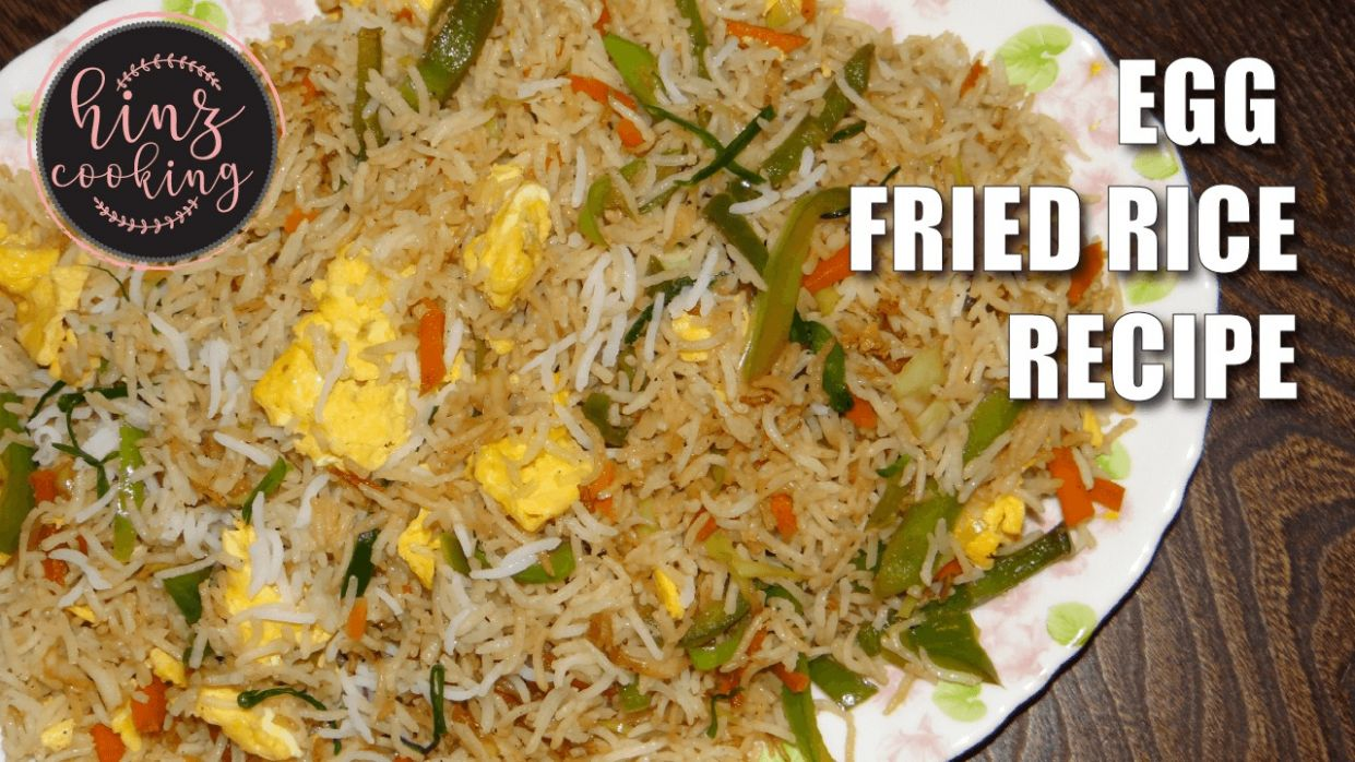 Egg Fried Rice Pakistani Recipe