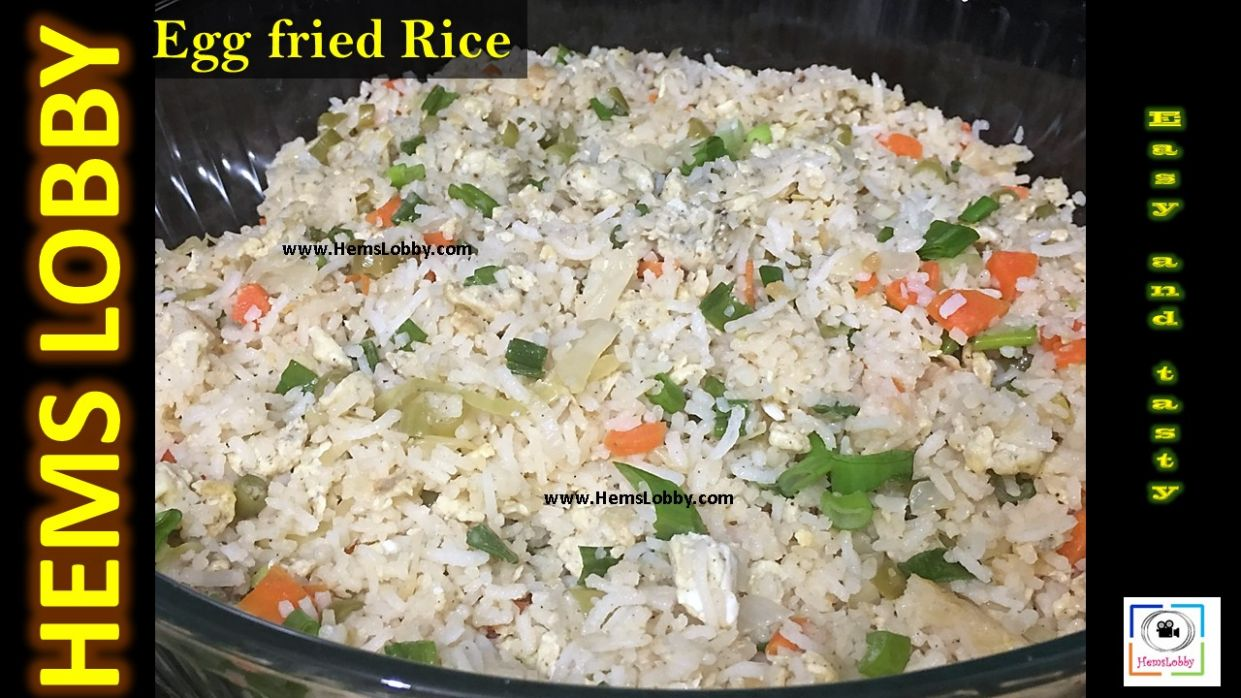 Egg Fried Rice Recipe in Tamil | How to make Egg fried rice in ..