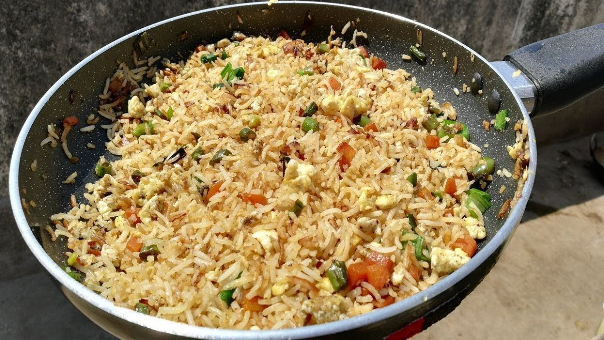 Egg Fried Rice | Restaurant Style Egg Fried Rice - Recipes Egg Fried Rice