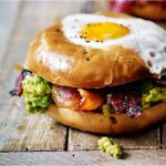 Egg In A Hole With Spicy Bacon And Guacamole – Breakfast Recipes With Bacon