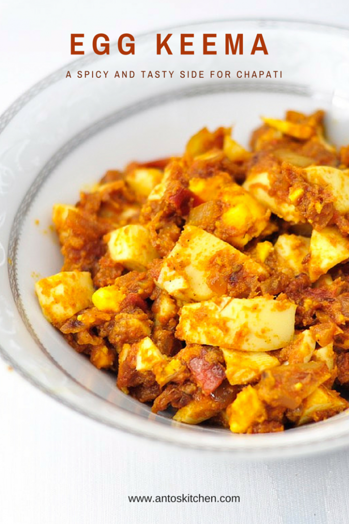 Egg keema is a spicy egg recipe 8 mins - Egg Recipes Lunch Indian