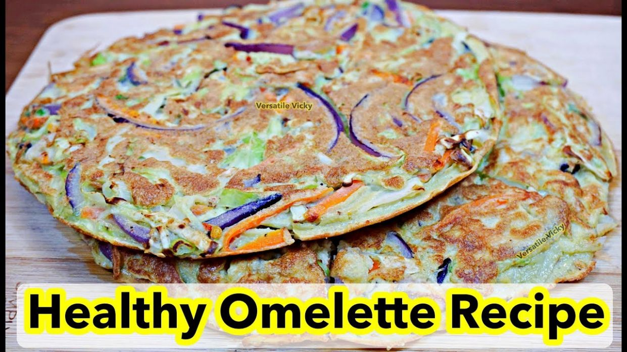 Egg Recipe For Weight Loss | Indian Masala Omelette | Healthy Omelette  Recipes - Egg Recipes For Weight Loss Indian