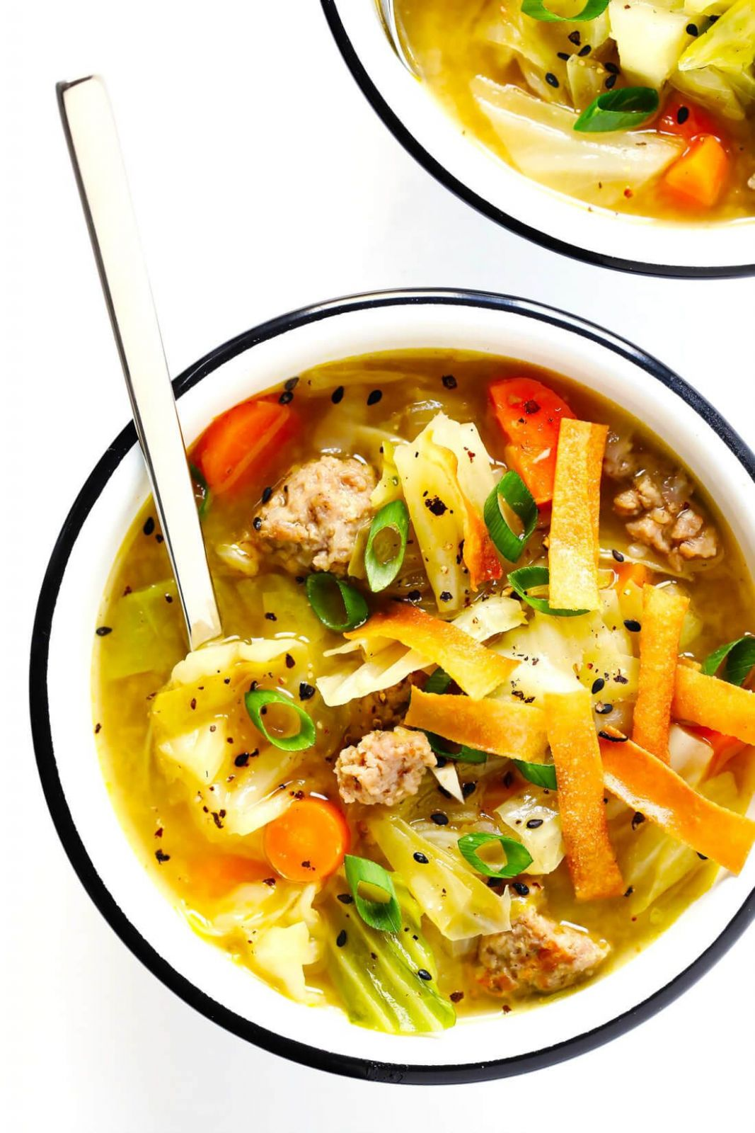 Egg Roll Soup - Soup Recipes Tasty