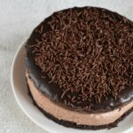 Eggless Chocolate Mousse Sandwich Cake Recipe