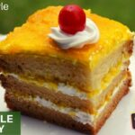 Eggless Pineapple Pastry Cake Recipe In Kannada | Home For Indian ..