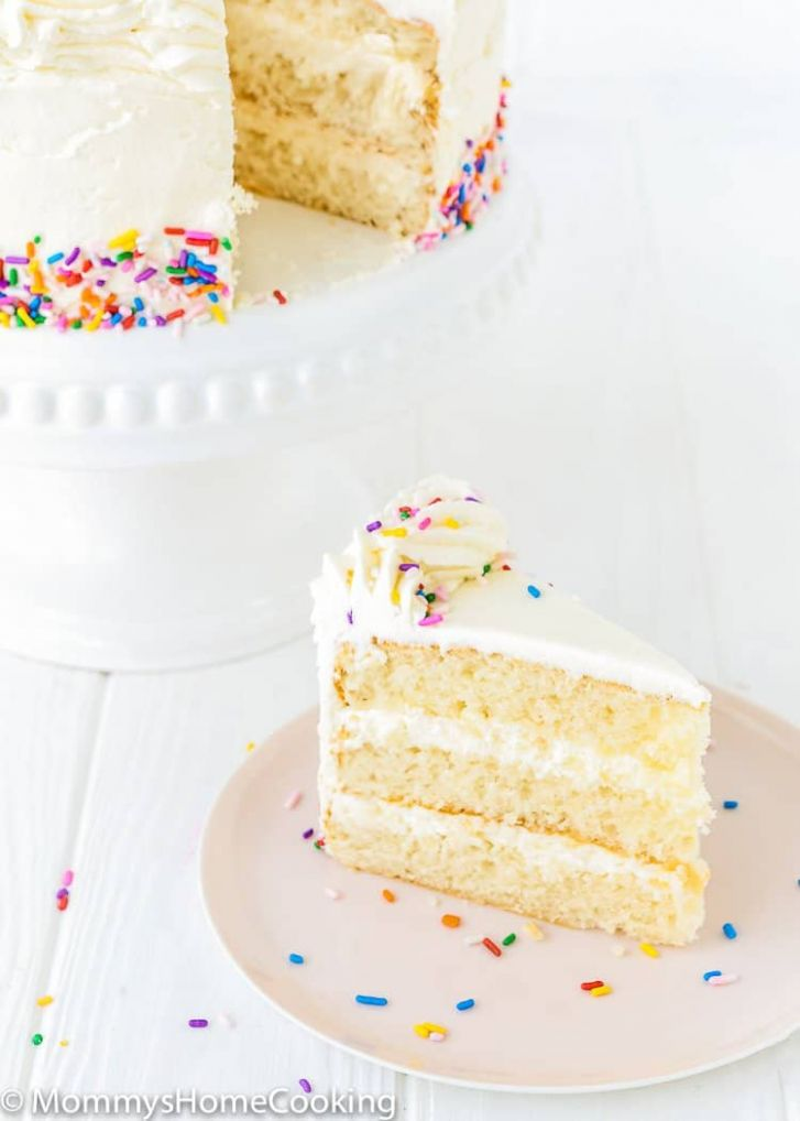 Eggless Vanilla Cake - Cake Recipes Eggless