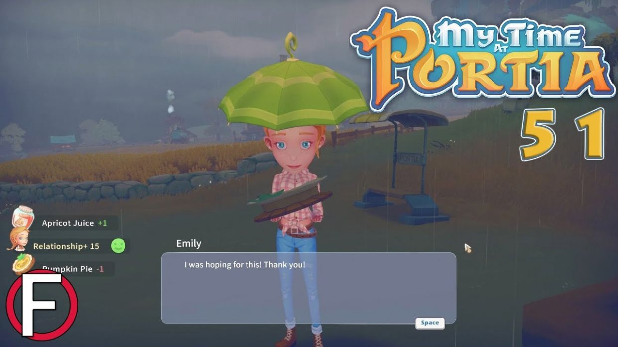 Emily Loves Pumpkin Pie! | My Time At Portia (Early Access) #8