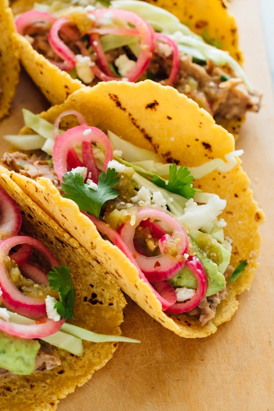 Epic Vegetarian Tacos Recipe - Cookie and Kate - Recipes Vegetarian Tacos