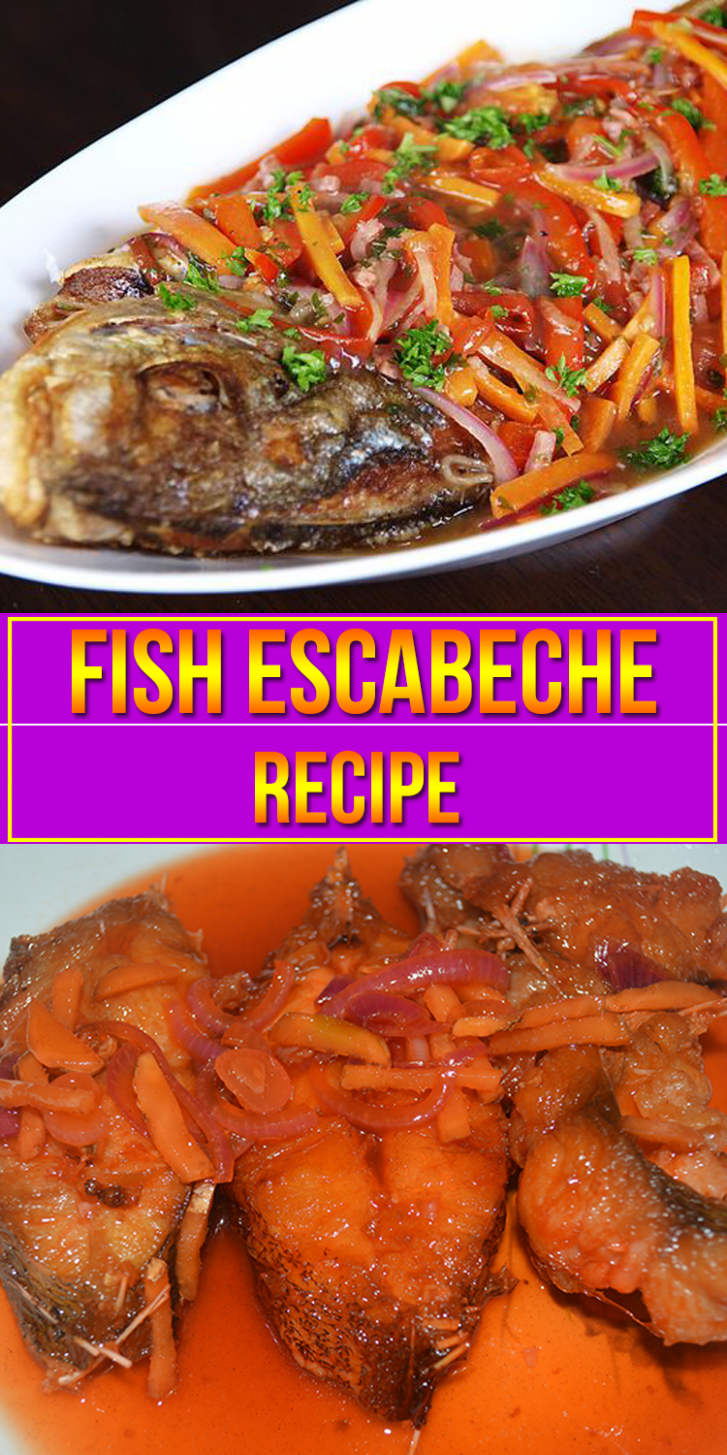 Escabeche - Recipe Fish Escabeche