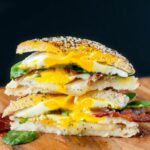 Everything Bagel Grilled Cheese Breakfast Sandwich – Sandwich Recipe Notes