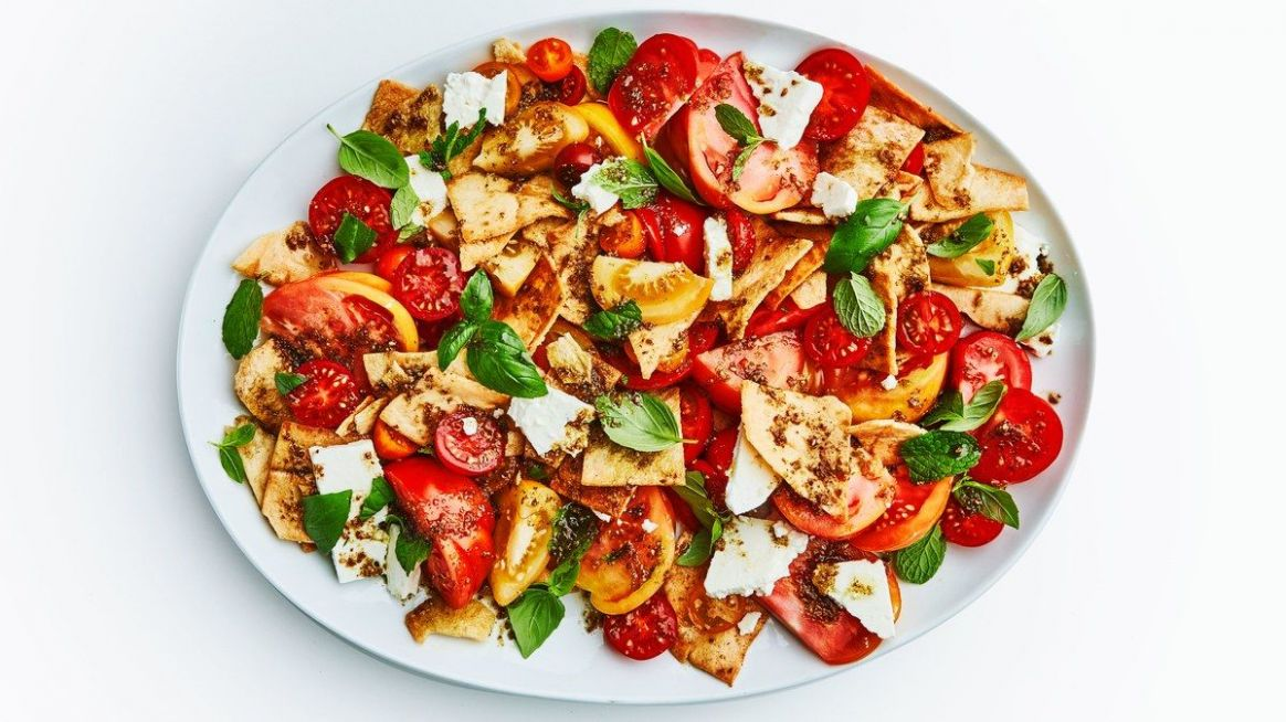 Fancy and Beautiful Tomato Salad - Salad Recipes Bon Appetit