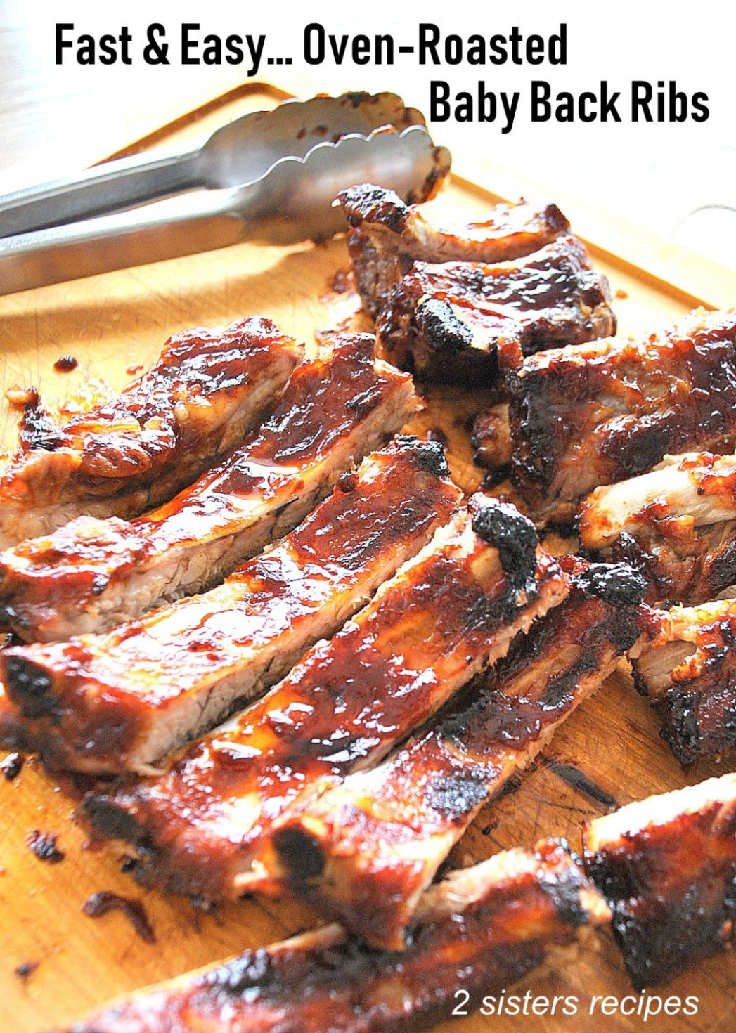 Fast & Easy Oven Roasted Baby Back Ribs - 12 Sisters Recipes by ..