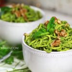 Fast and Easy Raw Vegan Meals: Walnut, Arugula and Basil Pesto