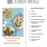 Fast Dinner Recipes With Shopping Lists – Rachael Ray In Season – Food Recipes List